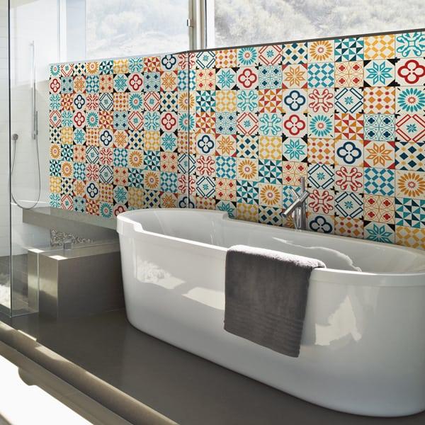 Crédence baignoire aluminium composite, aspect mat ou brillant, dimensions personnalisables