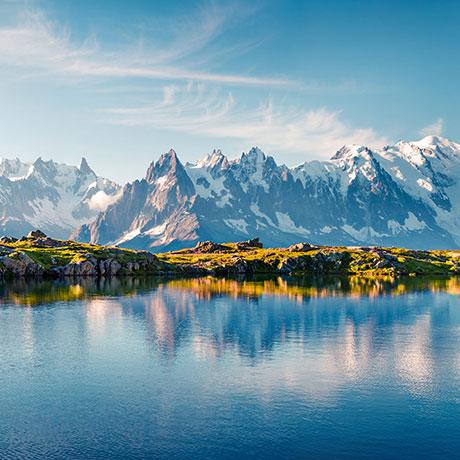 Montagne, Alples, Mont Blanc